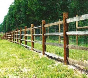 Appalachian Split Rail Fence Coastal