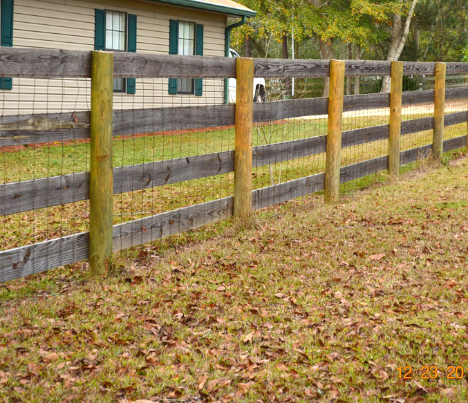 Fencing landscaping products coastal treated