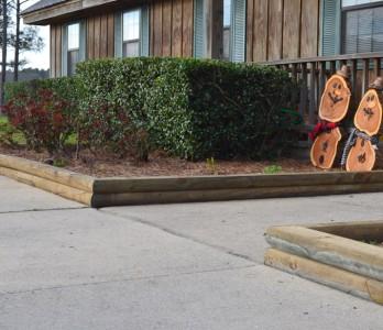 Landscape Timbers Coastal Treated Lumber Landscape Ties